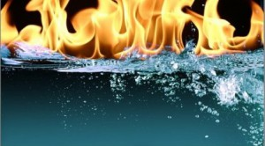 Вода - огонь