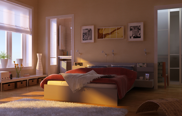 интерьер спальная 3